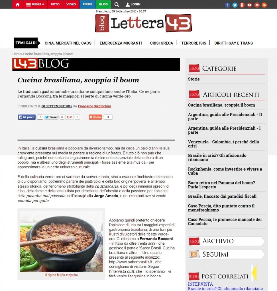 Cucina brasiliana, scoppia il boom