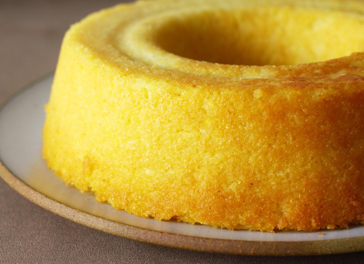 Receita de bolo de milho