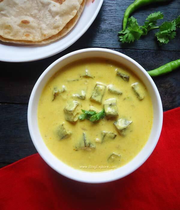 Dahi Bhindi – Okra In Yogurt Curry