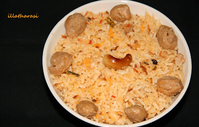Soya Nuggets Biryani and Foodies Meet......
