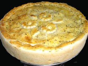 Torta Caipira de Frango e Milho
