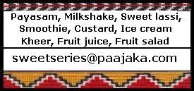 Announcing Sweet series - Cool desserts and Roundup of Sweet series - Puran poli, sweet chapathi, roti