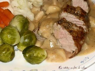 tranche de filet de porc sans os