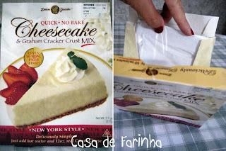 cheesecake com leite condensado