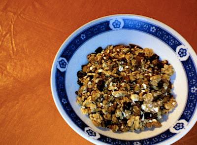 Menu del dia: Granola