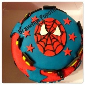 Défi relevé – Gâteau Spiderman de Lenny