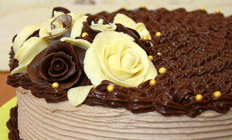 Ruže od čokolade