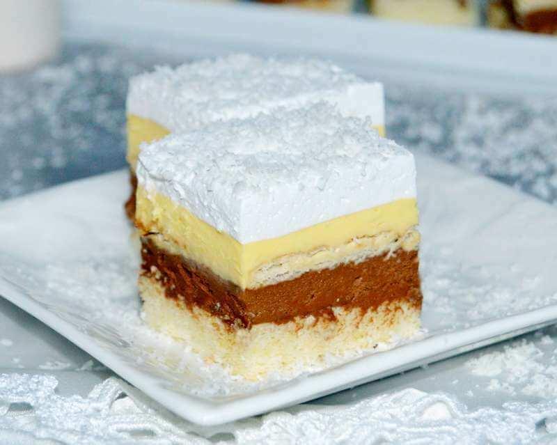 Snežna kraljica kolač