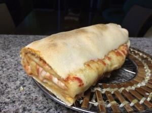 Pizza enrrollada