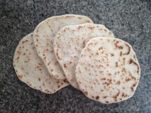 Pan pita (pan árabe)