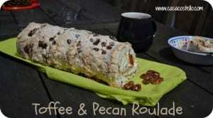 toffee roulade