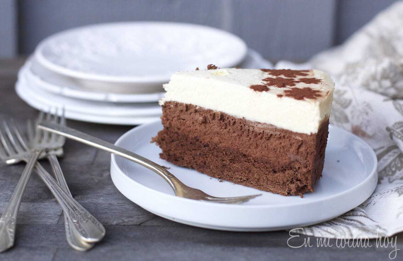 Torta de Mousse de 3 chocolates