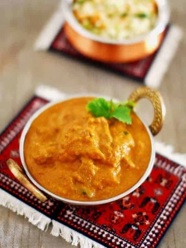 Spicy Beef Korma