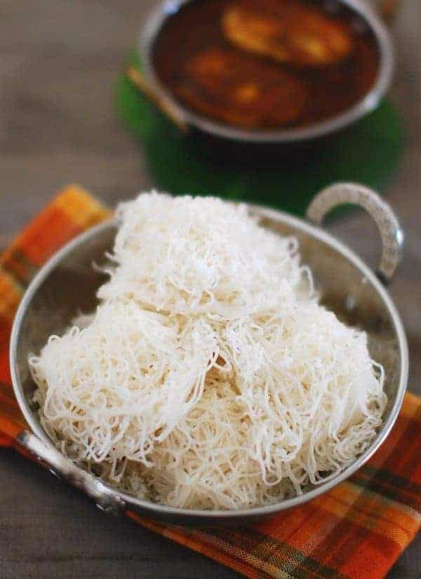 best side dish idiyappam