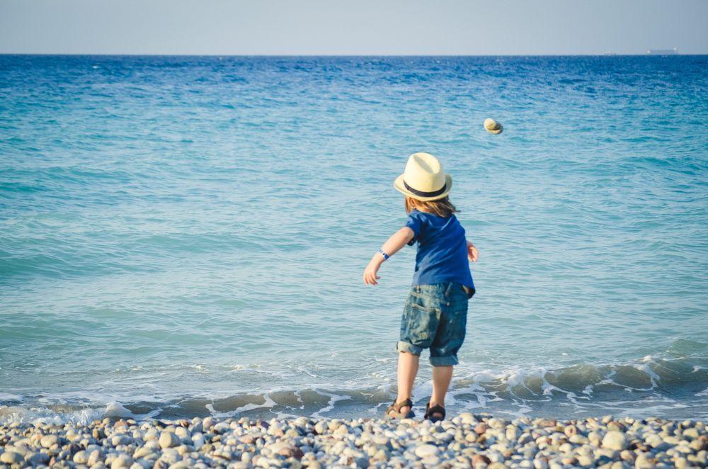 Att kasta en sten i havet