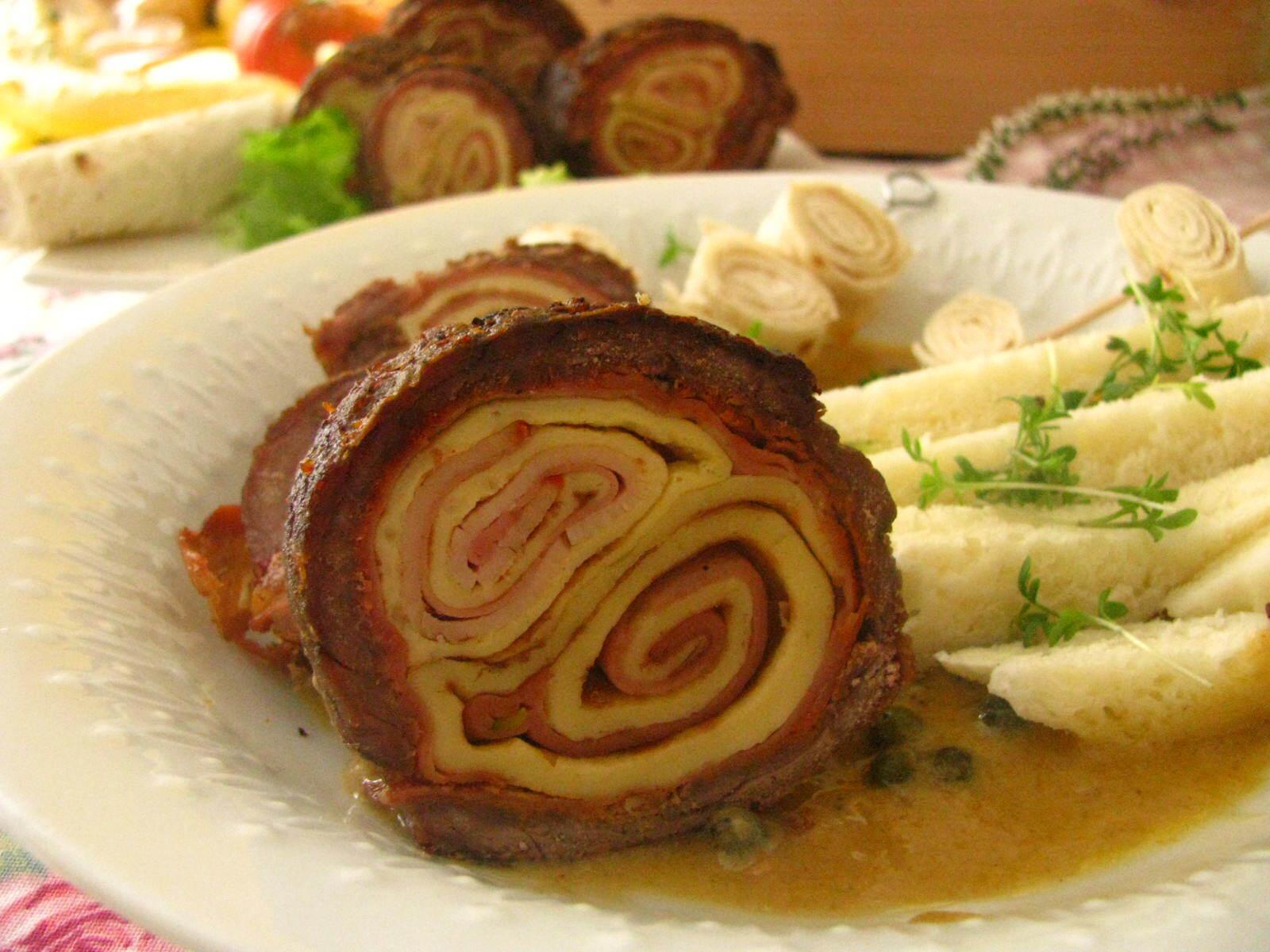 mäsová roláda na studeno