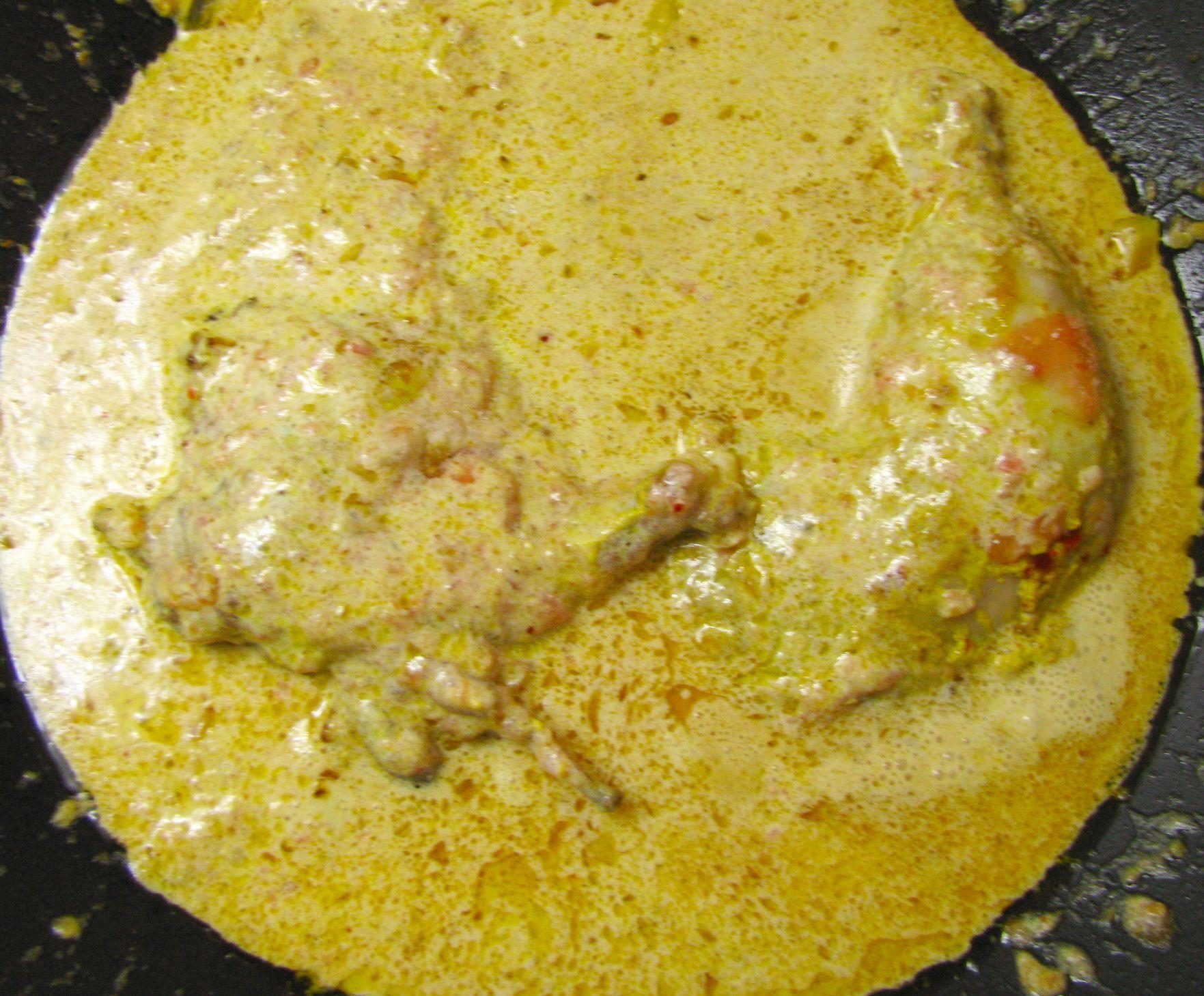 Indické kura na masle – chicken butter masala