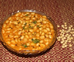 Soyabeans curry