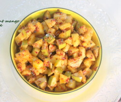 Instant mango pickle recipe
