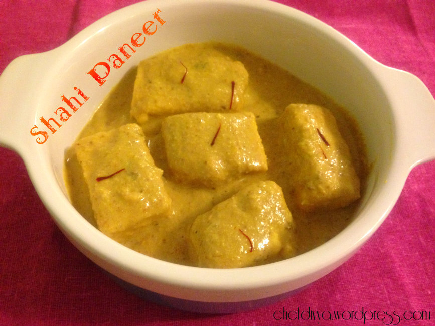 paneer curry for chapati