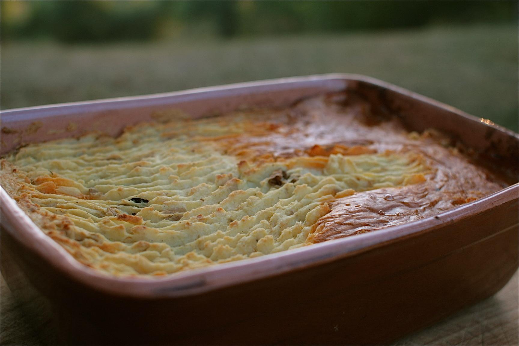 Super-Seasonally Vegged-Up Cottage Pie!