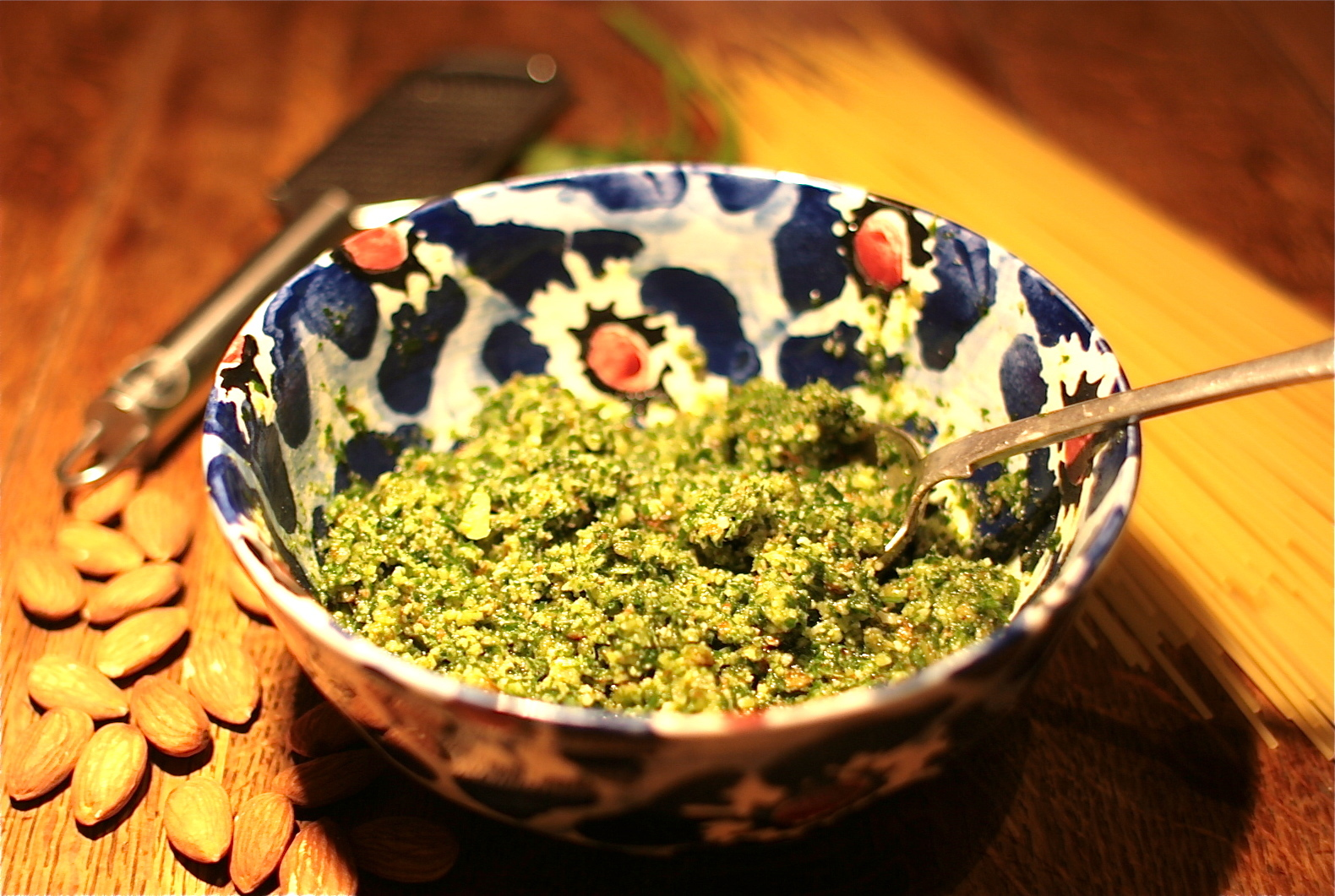 Happy New Year, and a Parsley Pesto to you!