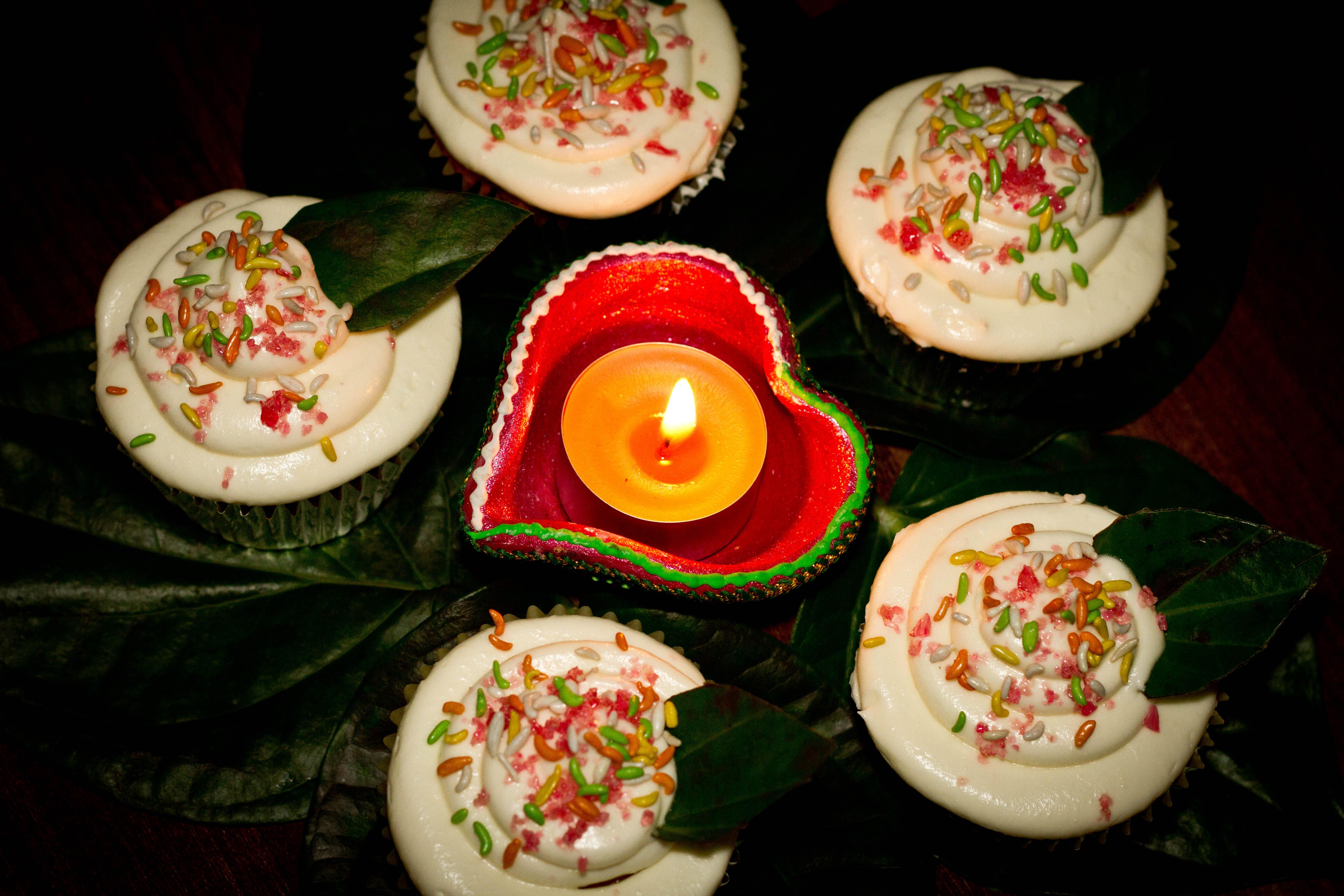 Meetha Paan Cupcakes