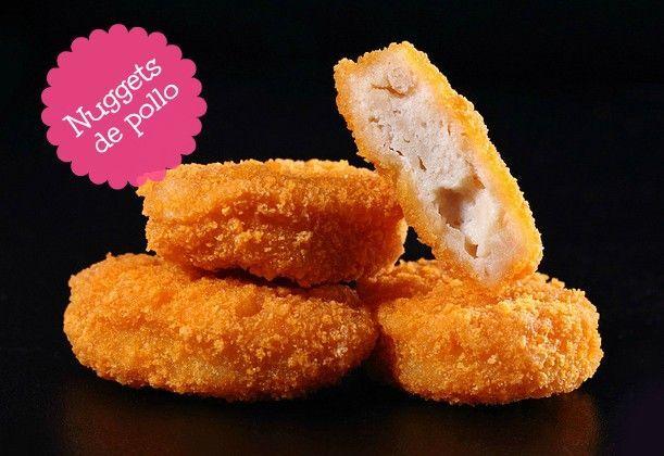Nuggets de pollo | Caseras deliciosas y saludables