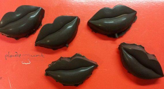 Besos chocolatosos