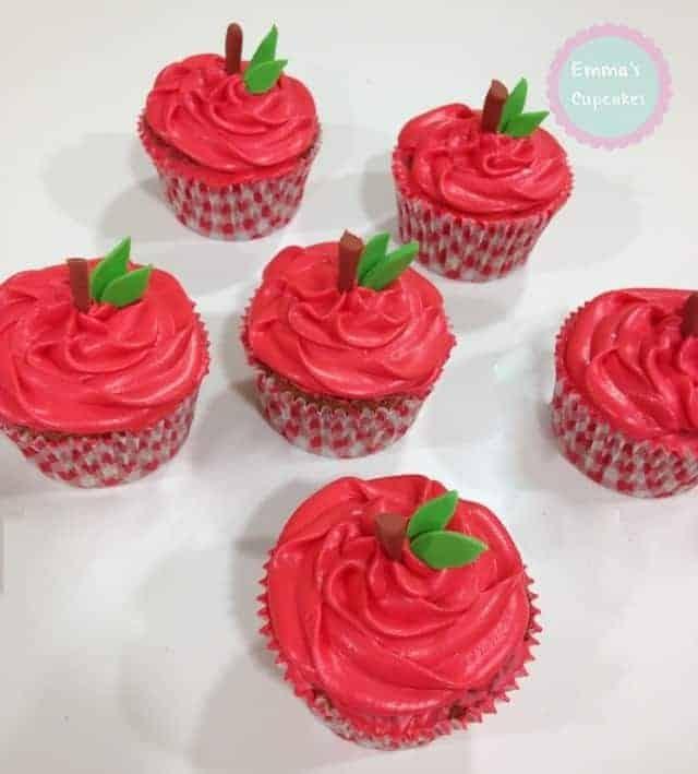 Cupcakes de Manzana ¡Muy saludables y jugosos!