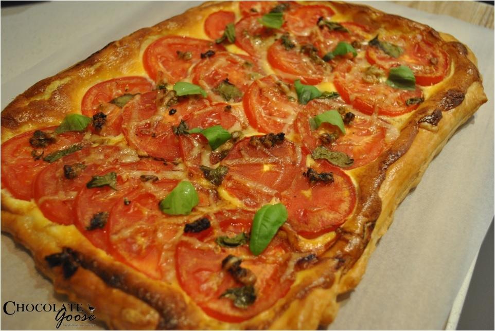 Tomato Mascarpone Tart