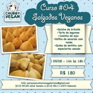 Curso de Salgados Veganos – Santos