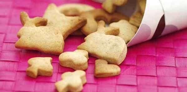 Biscoitos simples para as crianças