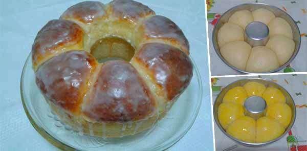Como fazer rosca doce