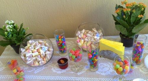 como fazer arvore de marshmallow