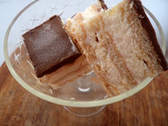 Já é verão? Parece. Por isso vamos de torta holandesa. Congelada.