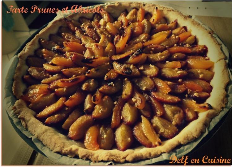 Tarte Prunes & Abricots