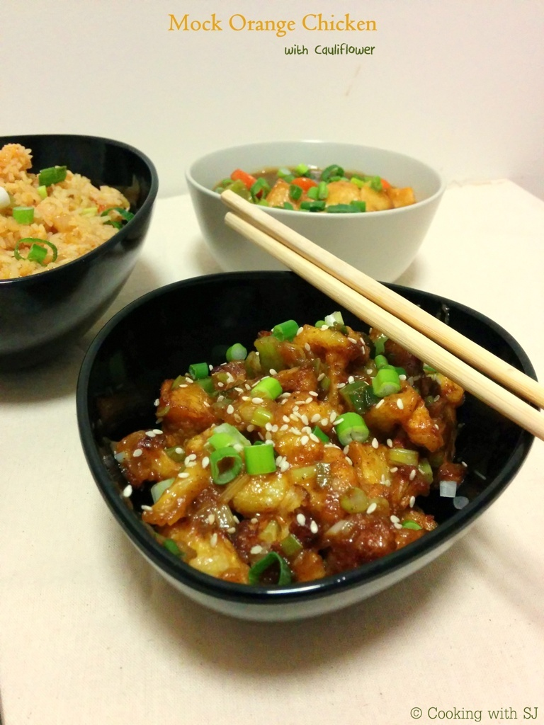 Mock Orange Chicken