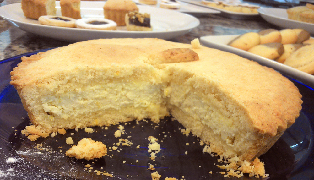 Receta de masa frolla y torta de ricota