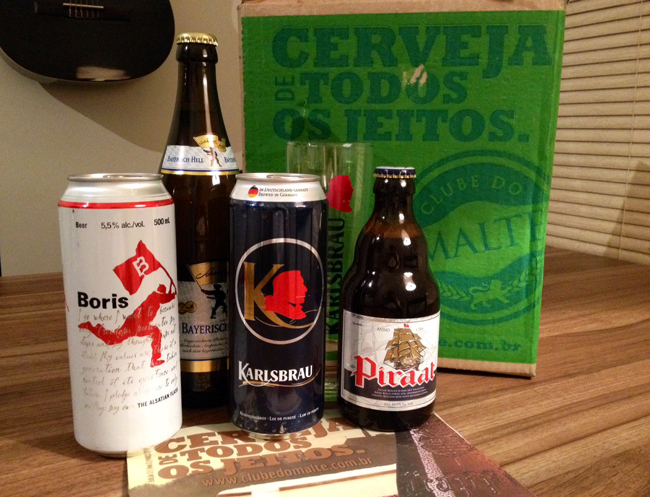 Beer Pack Clube do Malte & Filé de Tilápia