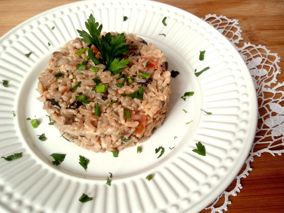 light com sobras de arroz