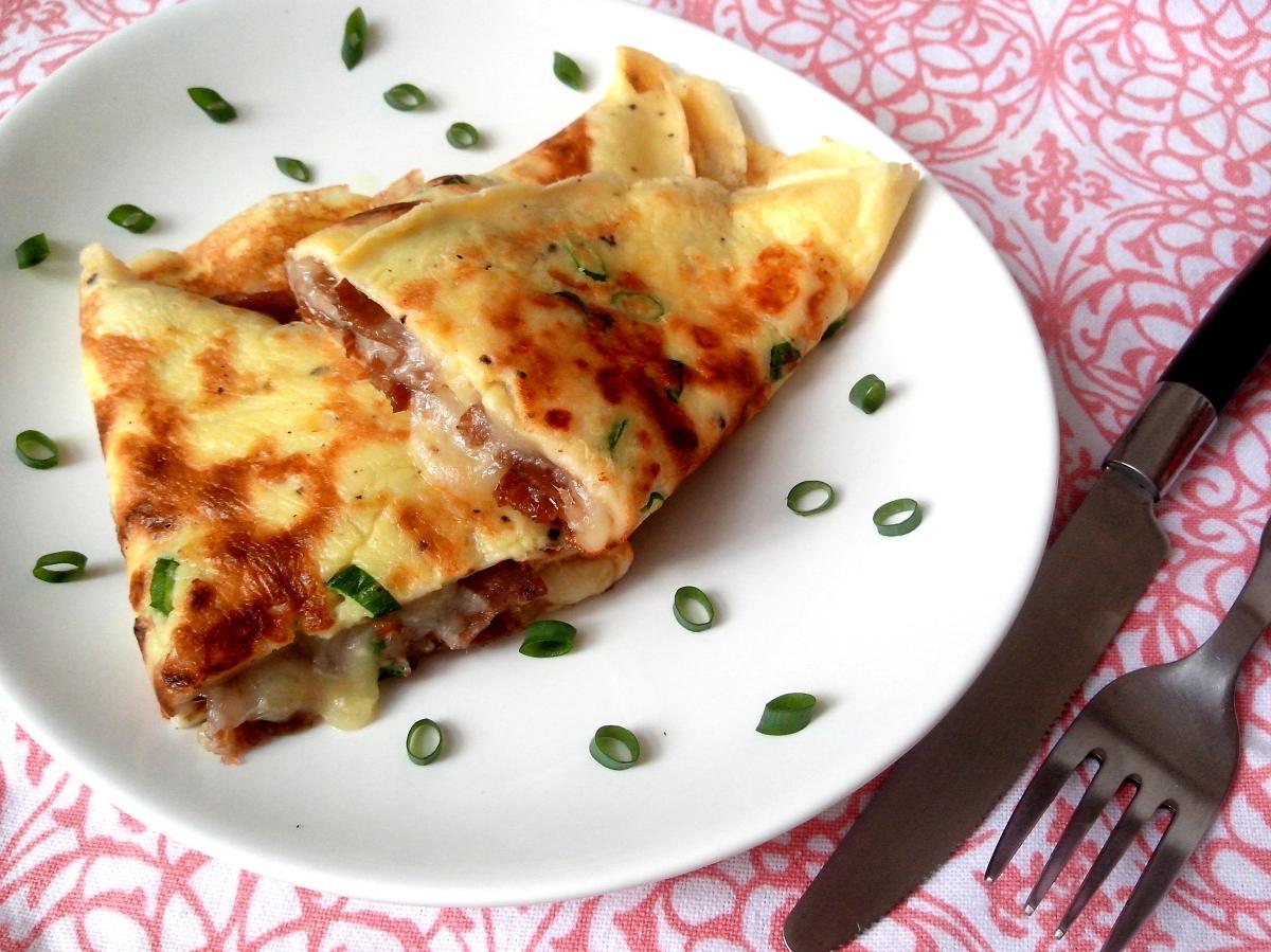 Crepioca (omelete de pão de queijo)