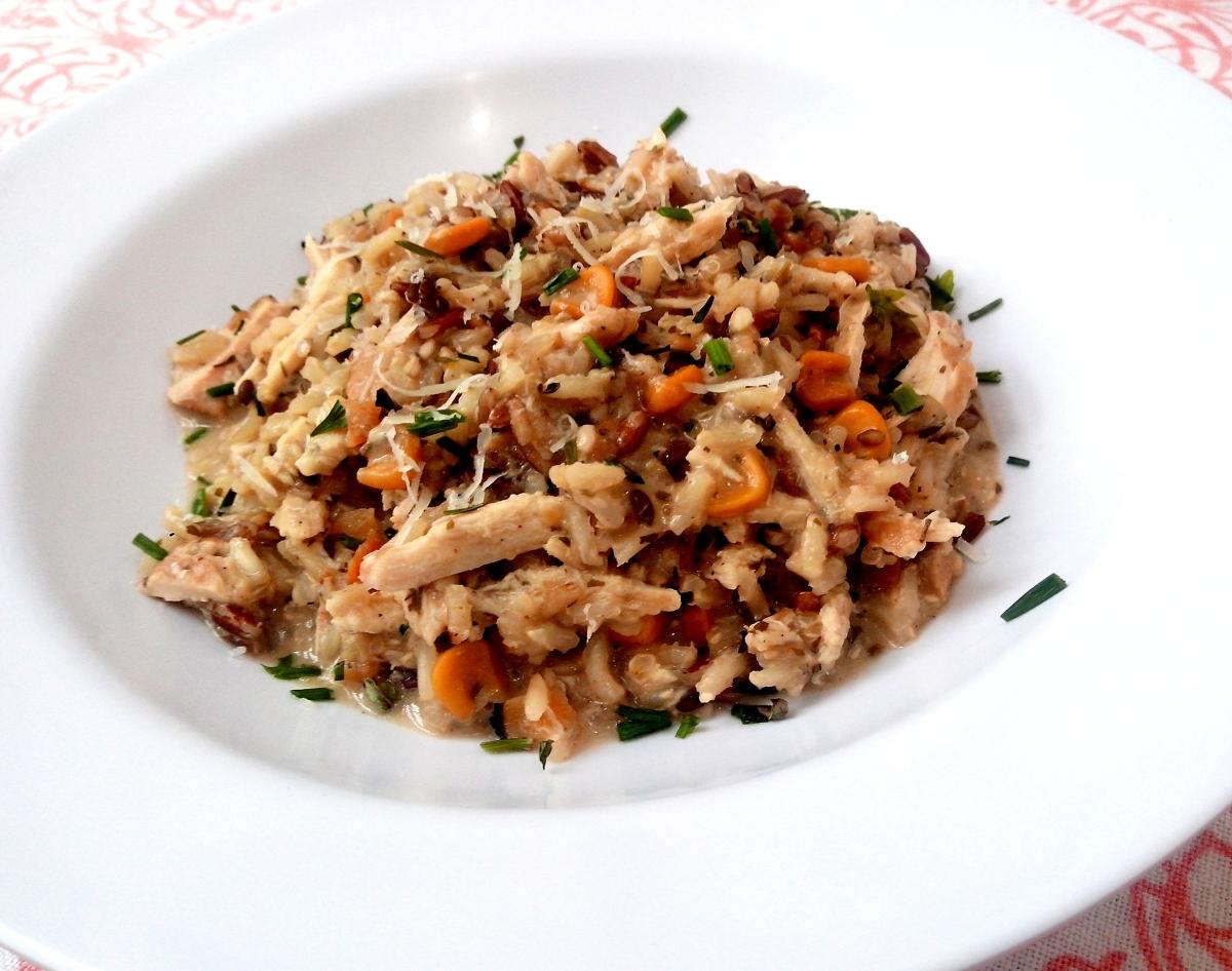 Risoto 7 grãos de frango