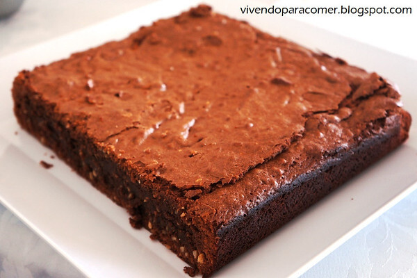 Brownie de chocolate com Baileys