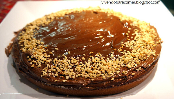 Bolo de chocolate com sour cream