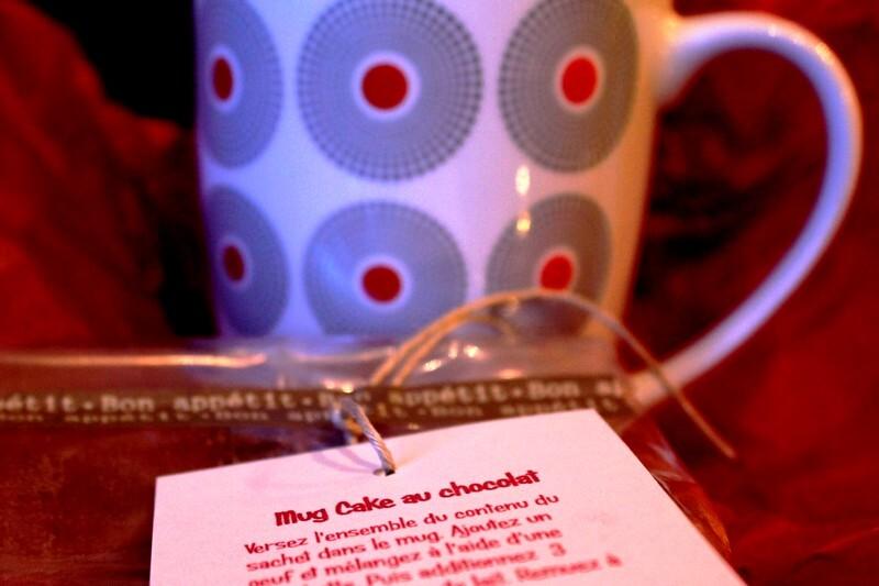 Un kit Mugcake au chocolat, le cadeau gourmand idéal pour mes copines