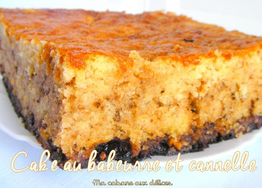 Cake au babeurre et cannelle