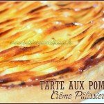 Tarte aux pommes creme patissiere cardamome
