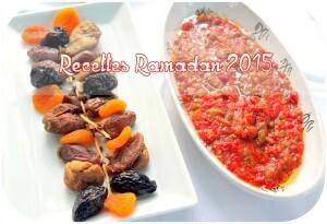 Recette Ramadan 2015