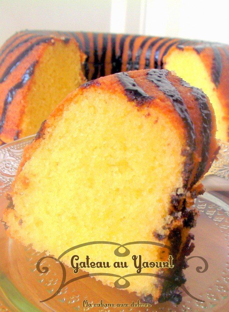 Recette gateau au yaourt sans huile, facile à faire
